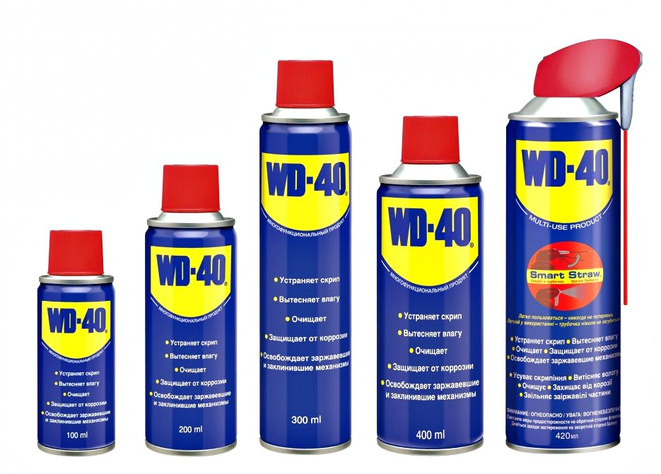 wd40 смазка